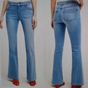 Anthro Pilcro and the Letterpress flare jeans 27